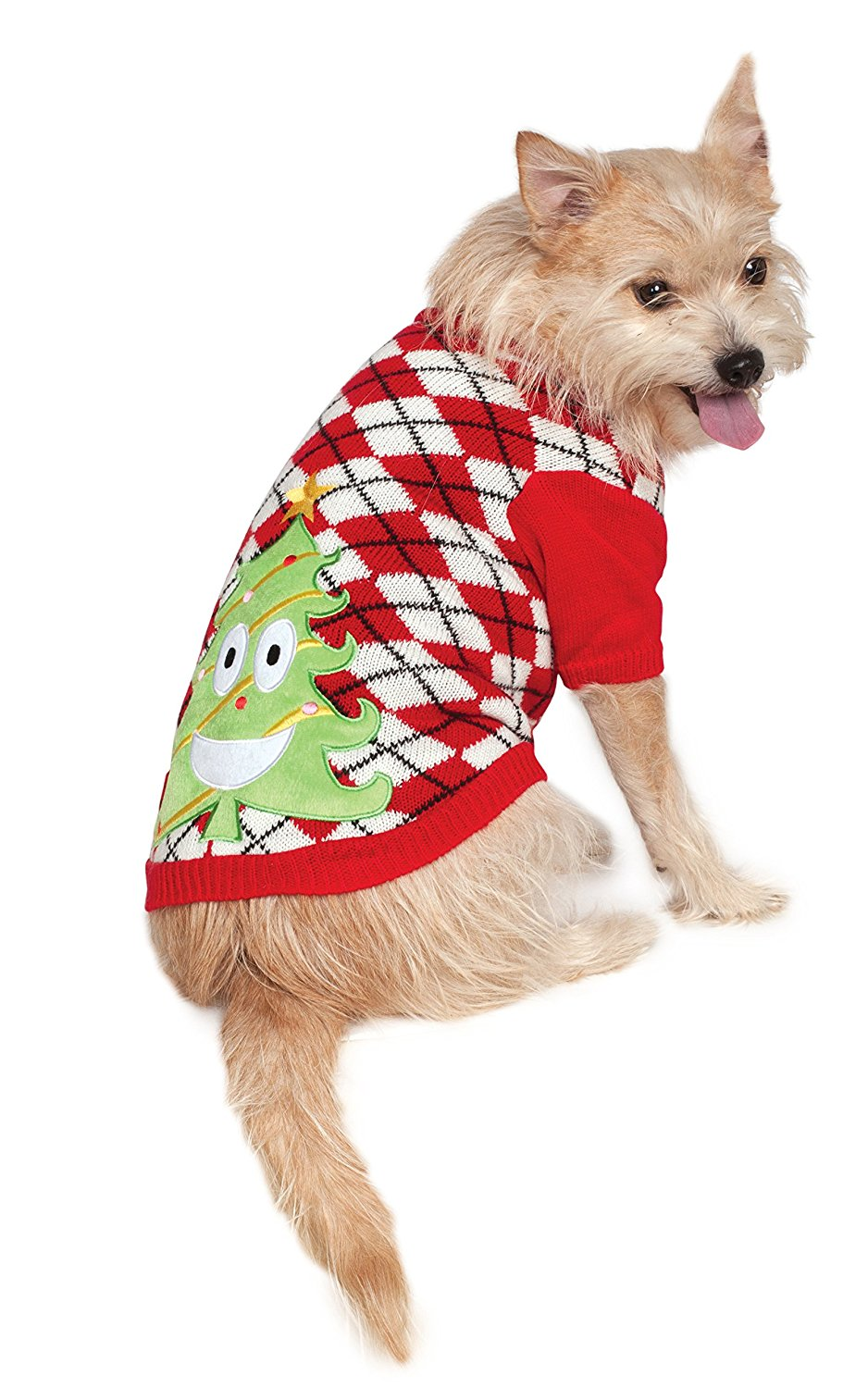 Christmas Tree Sweater for Dogs