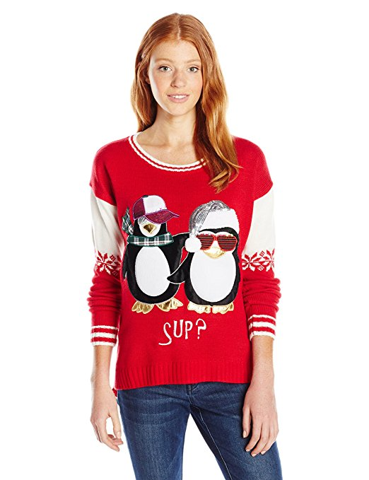 Cool Penguins ugly Christmas Sweater
