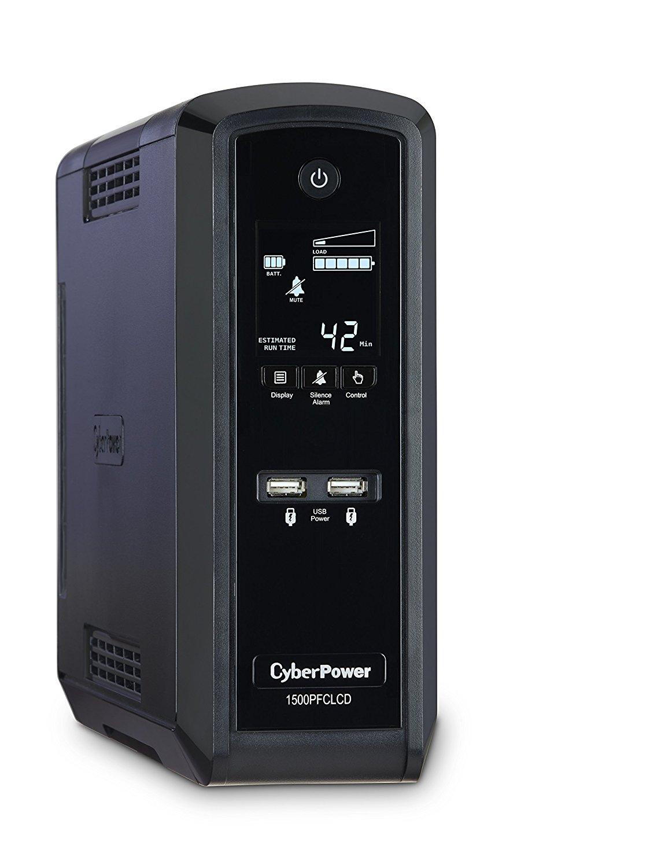 CyberPower CP1500PFCLCD PFC Sinewave UPS System