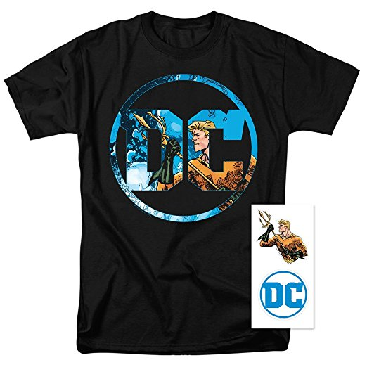 DC Comics Aquaman Justice League T-Shirt