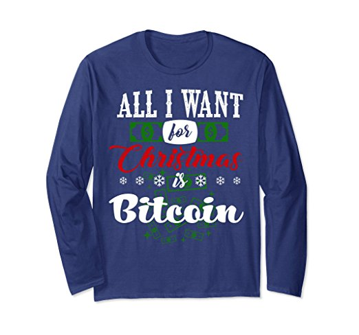Funny Bitcoin Ugly Christmas Sweater