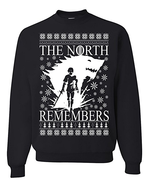 Game of Thrones Arya the North Remembers Ugly Christmas Sweater