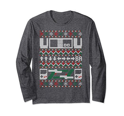 Santa vs Krampus Ugly Christmas Sweater