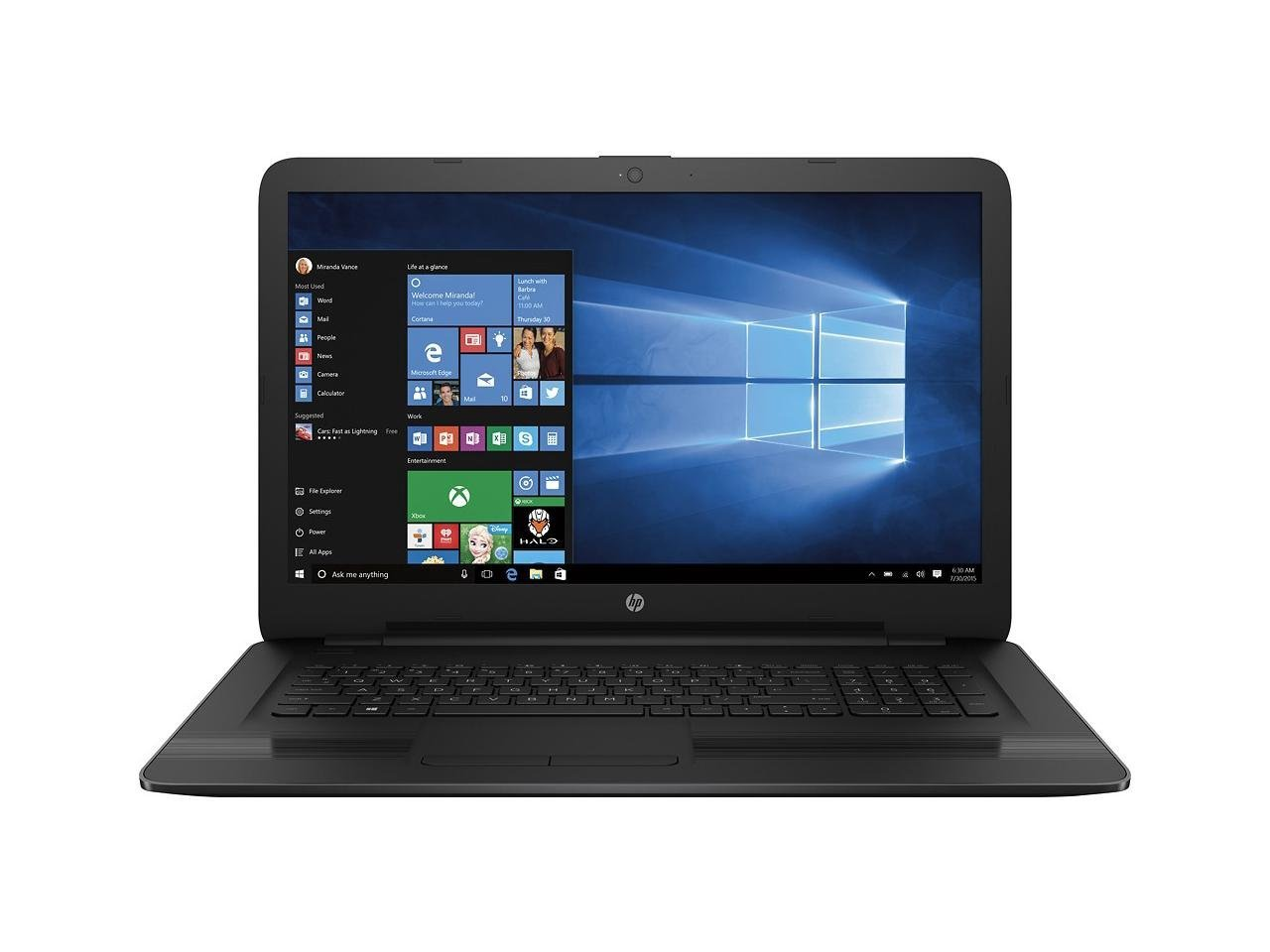 HP High Performance 17.3-inch Laptop
