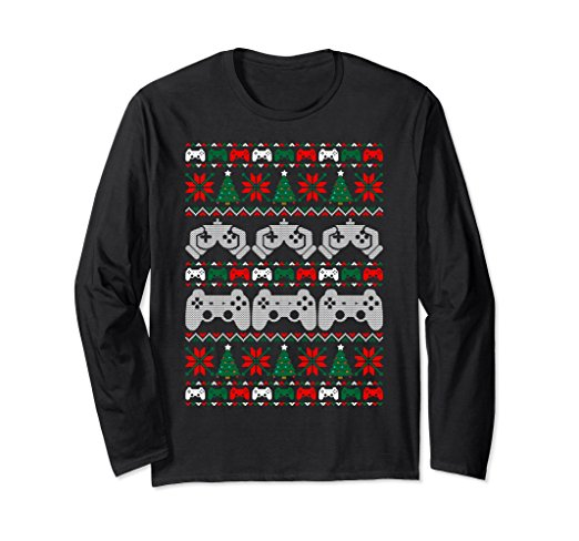 Santa vs Krampus Ugly Christmas Sweater