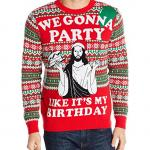 Jesus Birthday Ugly Christmas Sweater