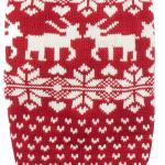 Kissing Reindeer Ugly Christmas Sweater for Dogs