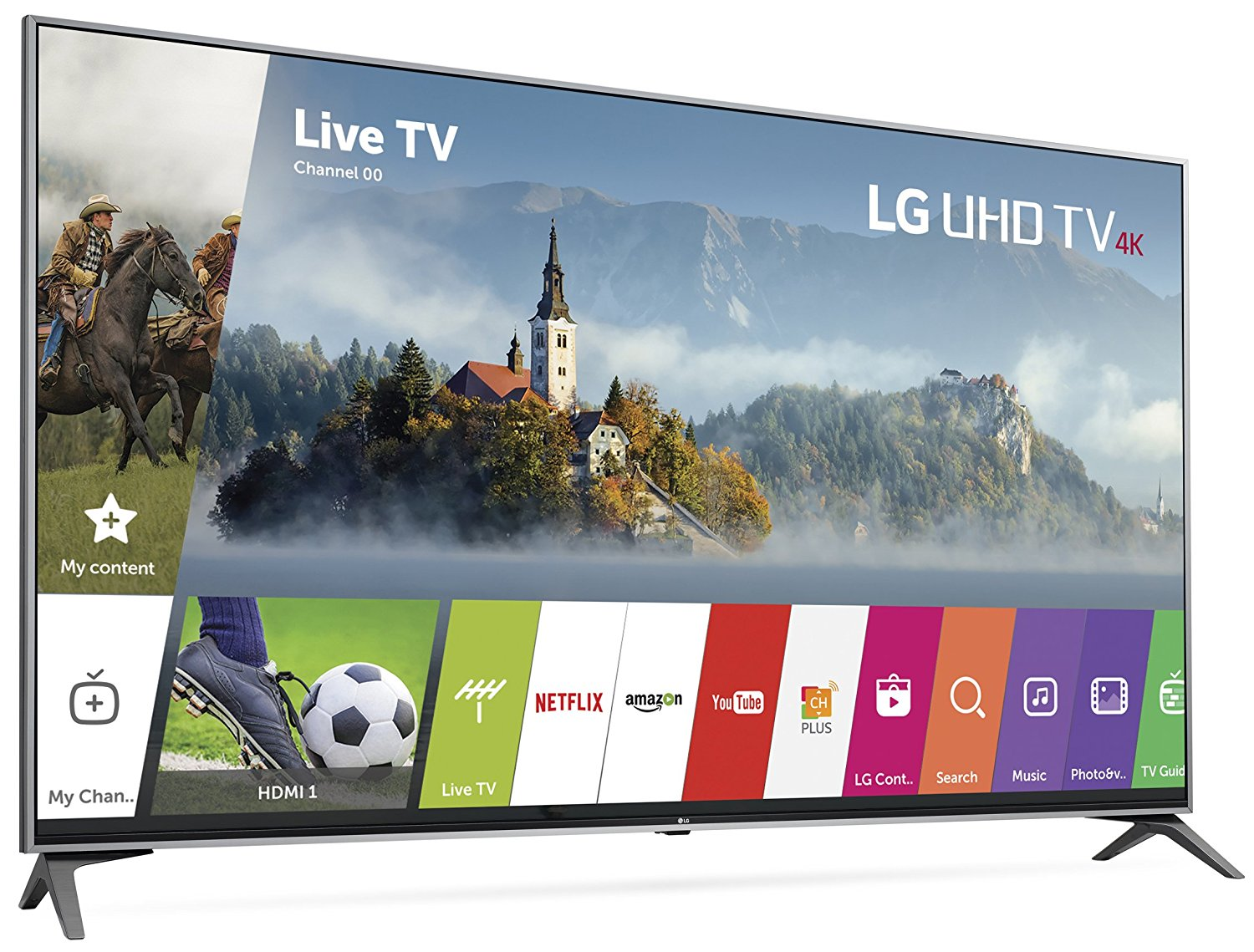 LG 65-Inch 4k UHD Smart TV