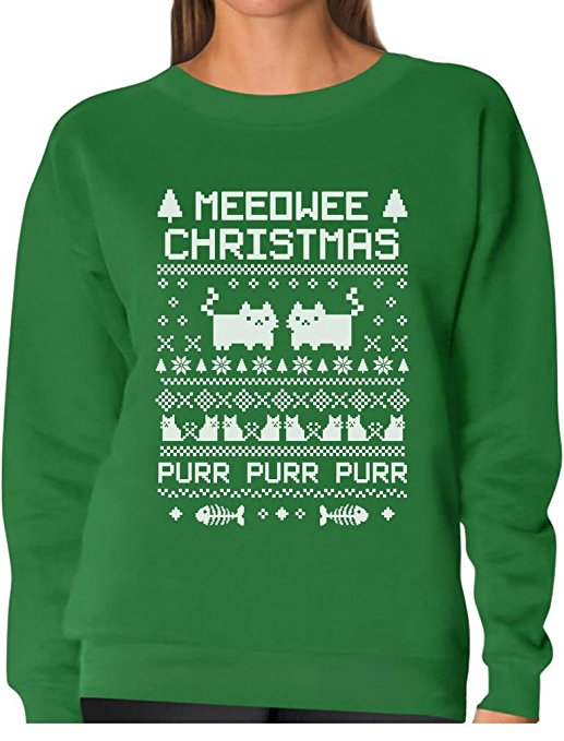 Meeowee Ugly Christmas Sweater