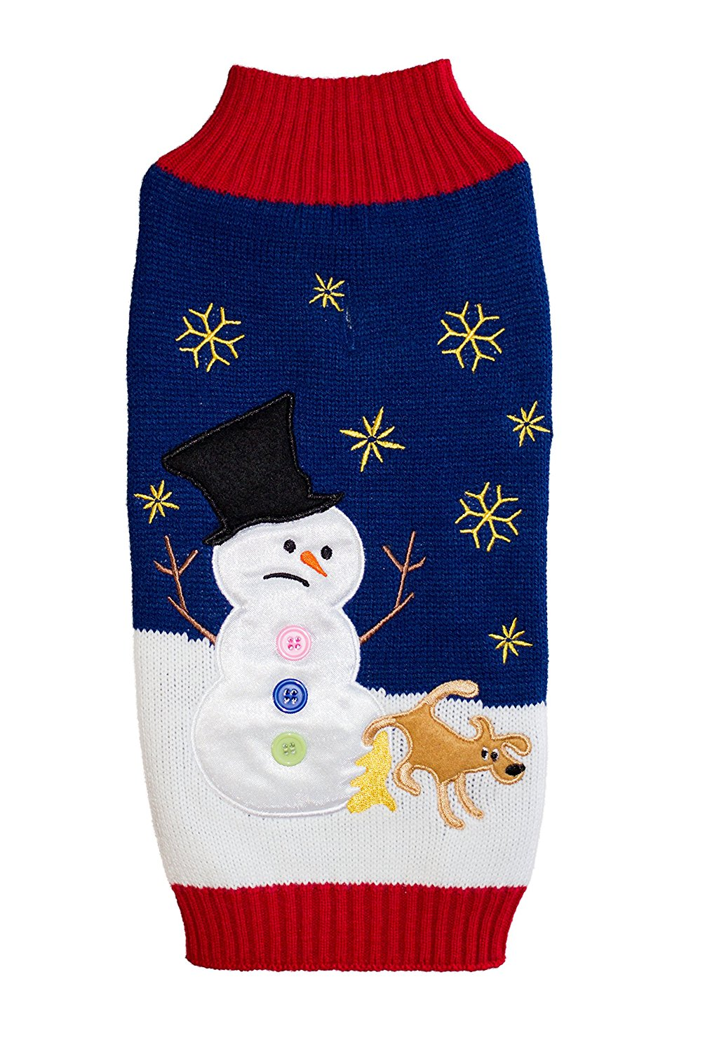 Peeing Reindeer Ugly Christmas Sweater for Dogs