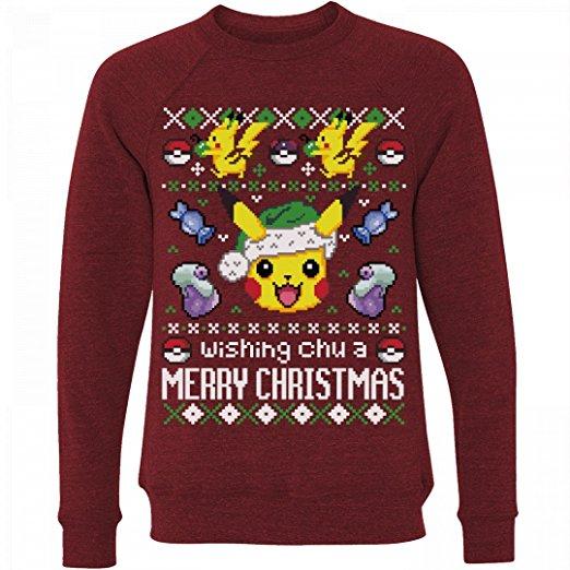 Pokemon & Pikachu Ugly Christmas Sweater