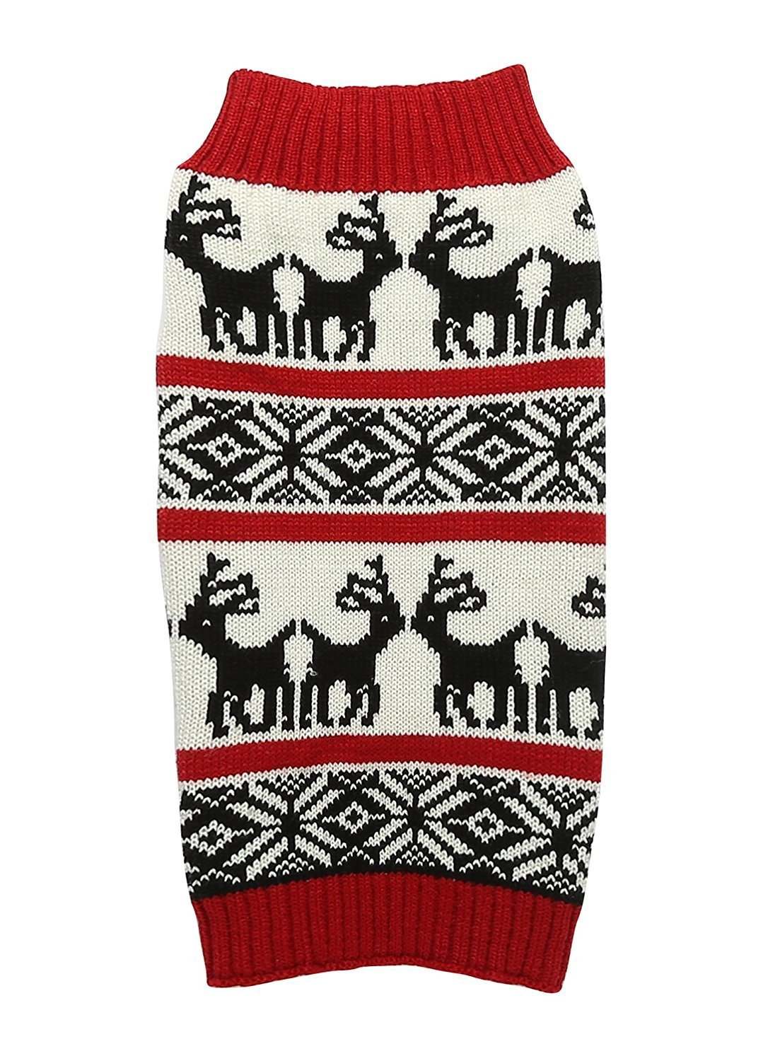 Reindeer Ugly Christmas Sweater for Dogs