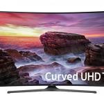 Samsung Curved 55-Inch 4k UHD Smart TV