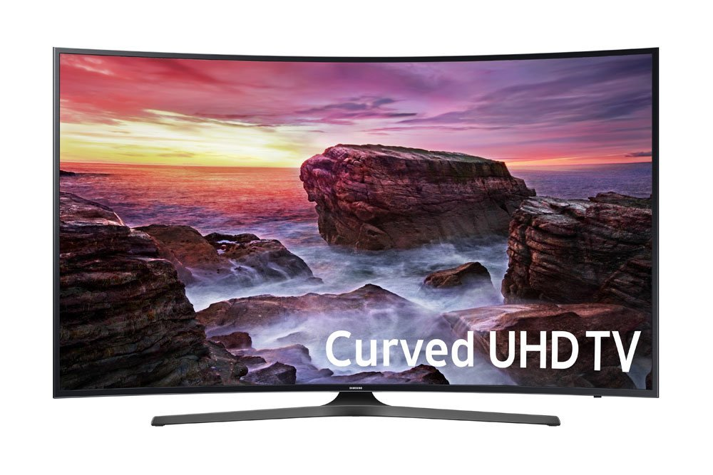 Samsung Curved 55-Inch 4k UHD Smart TV
