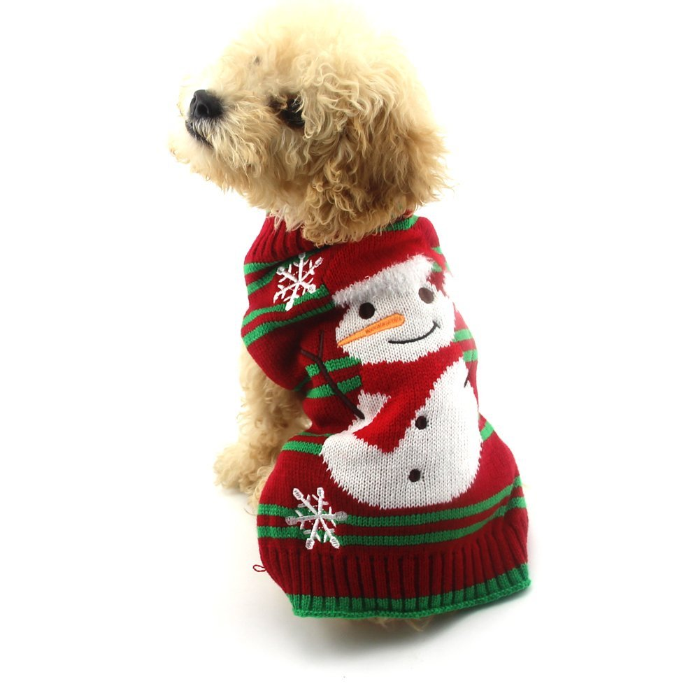 Snowman Ugly Christmas Sweater for Dogs