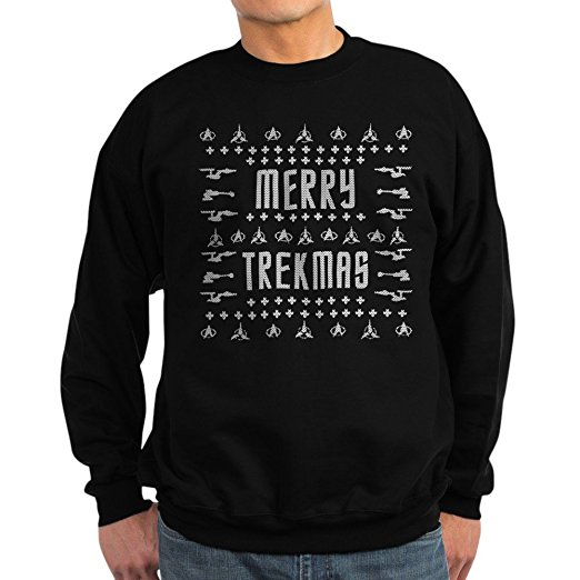 Star Trek Merry Trekmas Ugly Christmas Sweater