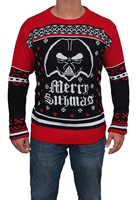 Star Wars Merry Sithmas Ugly Christmas Sweater