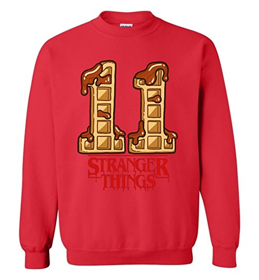 Stranger Things 11 Ugly Christmas Sweater