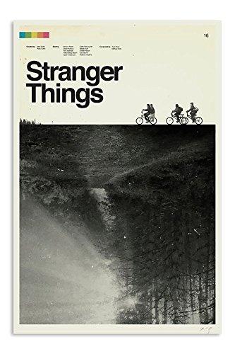 Stranger Things Album Cover Style Poster