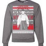 Stranger Things Angry Eleven Ugly Christmas Sweater