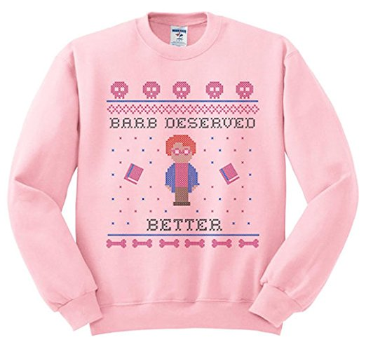 Stranger Things Barb Deserved Better Ugly Christmas Sweater