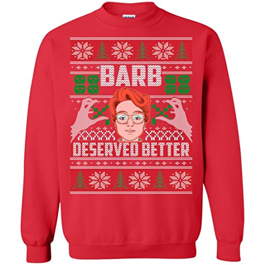 Stranger Things Barb Ugly Christmas Sweater