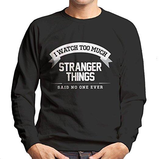 Stranger Things Alphabet Lights Ugly Christmas Sweater