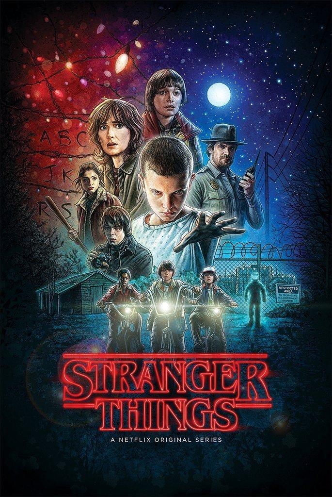 Stranger Things Classic Poster