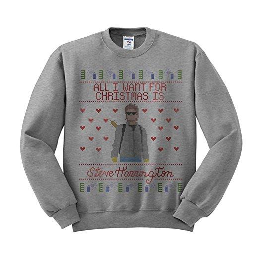 Stranger Things Steve Harrington Ugly Christmas Sweater