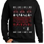 Stranger Things Upside Down Ugly Christmas Sweater