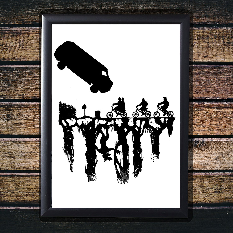 Stranger Things Van Poster