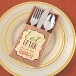 Thanksgiving Cutlery Holders