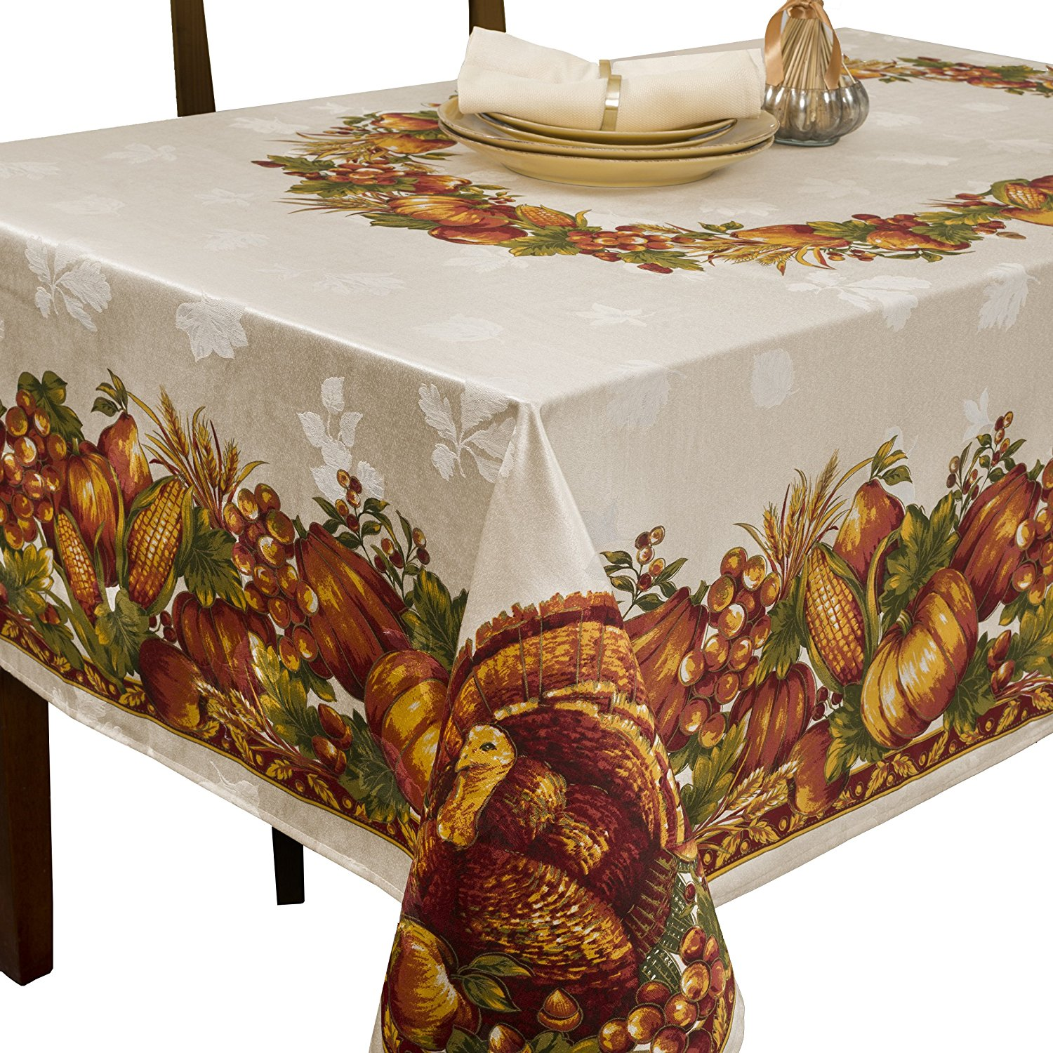 Thanksgiving Harvest Tablecloth