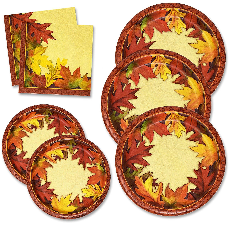 Thanksgiving Paper Plates Set