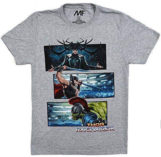 Thor, Hela, Hulk T-Shirt