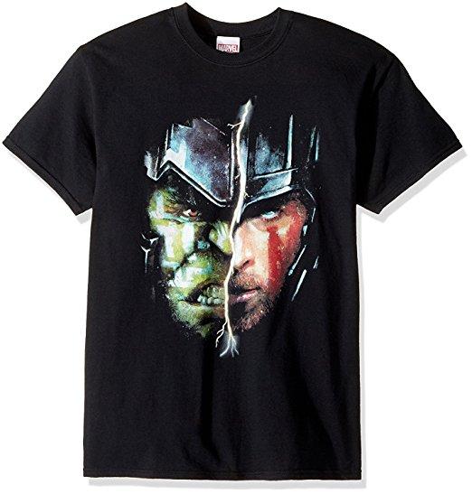 Thor Ragnarok Half Hulk, Half Thor T-Shirt