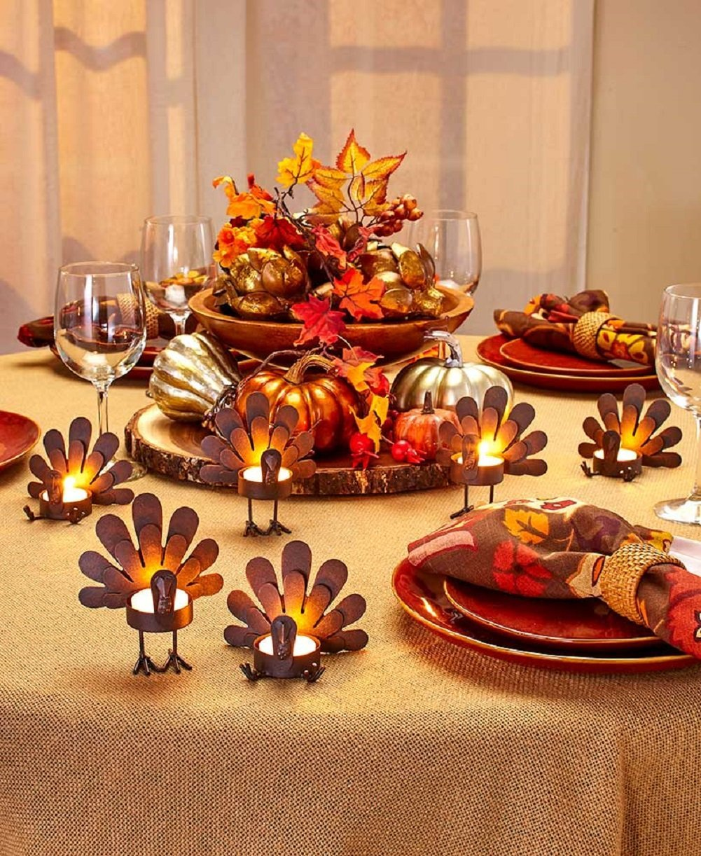 Turkey Candle Holders