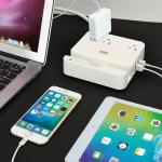 UL LISTED Charger Station – EZOPower Desktop Charging Power Strip Surge Protector