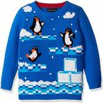 Penguins Video Game Ugly Christmas Sweater