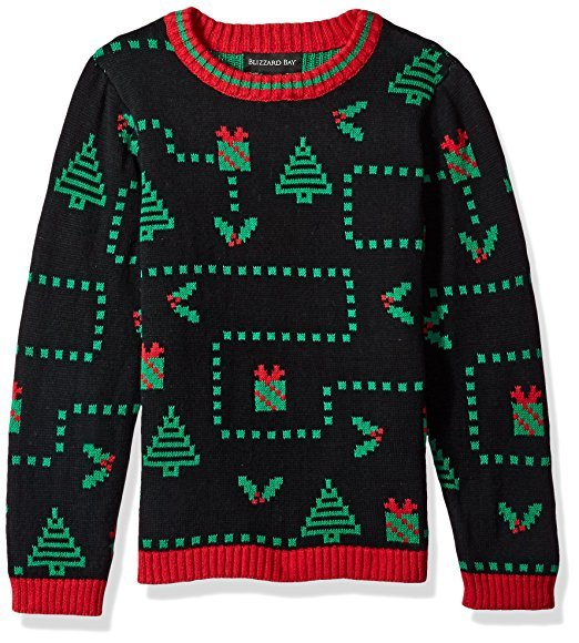 Pixelated Ugly Christmas Sweater