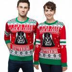 Star Wars Darth Vader Lack of Cheer Holiday Sweater