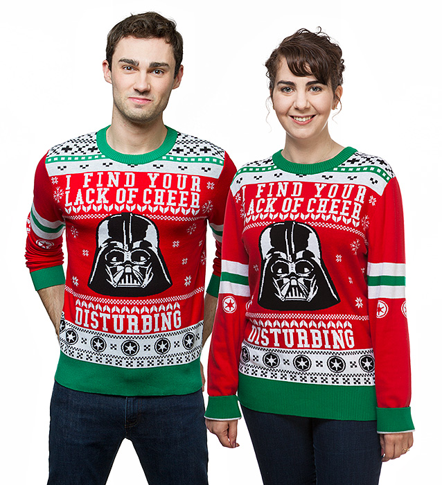 10ddf88bc65d 10 Geeky Ugly Christmas Sweaters - Walyou