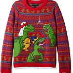Three Wise Raptors Ugly Christmas Sweaters