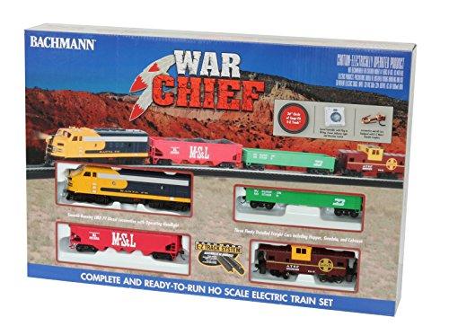 War Chief Electric Train Set