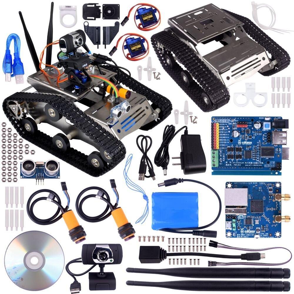 Wireless Robot Car Kit