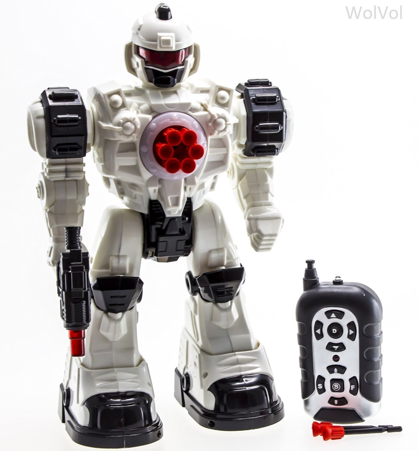 WolVol Remote Control Toy Robot