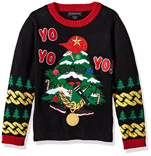Yo Christmas Tree Ugly Sweater