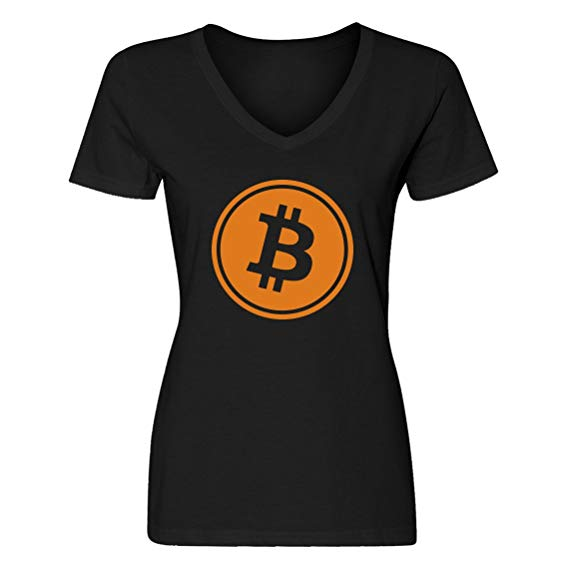 Bitcoin Women's T-Shirt by Indica Plateau