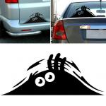 Peeking Monster Funny Scary Eyes Decal Sticker for Car Walls Windows Graphic Vinyl Car
