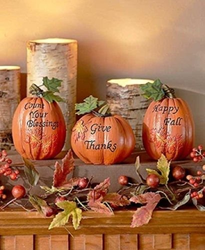 Pumpkins Table Set